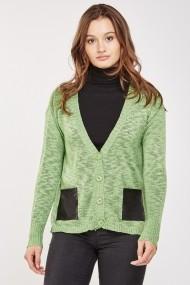 Cardigan 642982-273029 Verde