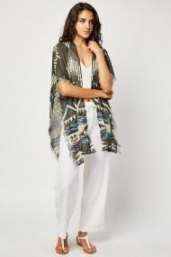 Kimono 663807-311816 Negru