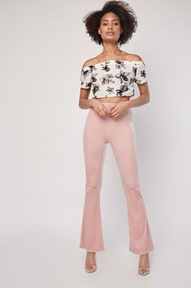 Pantaloni skinny eOutlet 654553-296073-2145 Roz