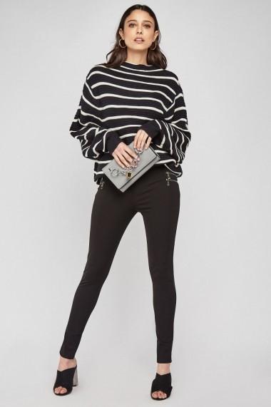 Pantaloni skinny eOutlet 655002-296767-2146 Maro