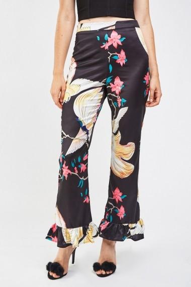 Pantaloni largi 638124-263273 Multicolor - els