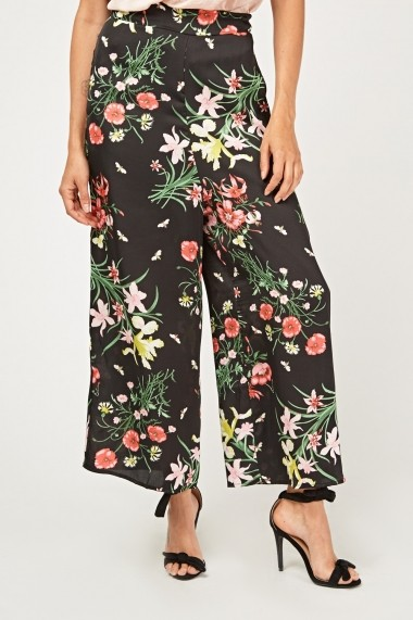 Pantaloni largi 638123-263271 Multicolor