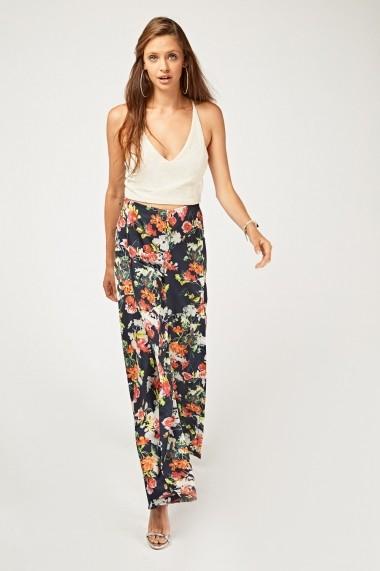 Pantaloni largi 637991-263002 Multicolor