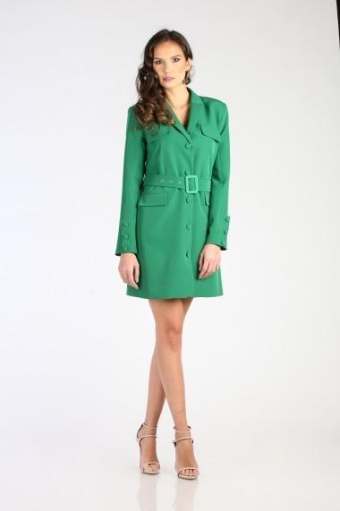 Rochie Marmuri KLD-MR18S P6025-GREEN Verde - els