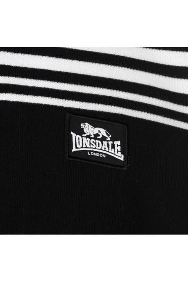 Tricou Polo Lonsdale 54500050 Negru