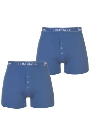 Set 2Boxeri Lonsdale 42201380 Albastru
