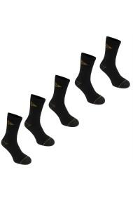 Set 5 perechi sosete Dunlop 41431203 Negru