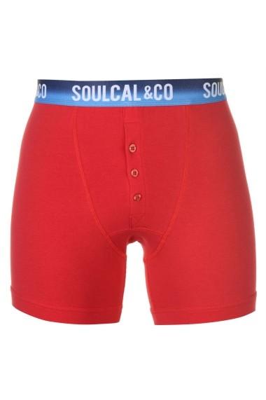 Set 2Boxeri SoulCal 42221296 Rosu