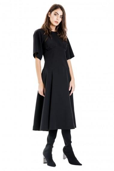 Rochie cu corset negru