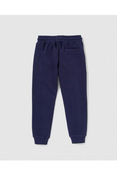 Pantaloni sport A25082304 Bleumarin