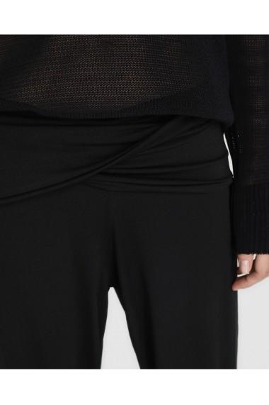 Pantaloni largi A26277234 Negru