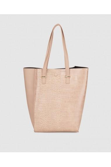 Geanta shopper A22602255 Bej