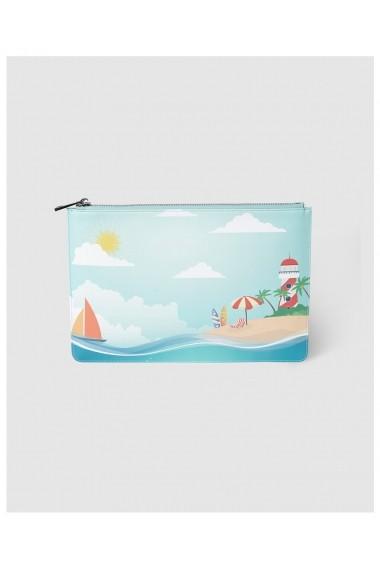 Geanta plaja A23888135 Multicolor