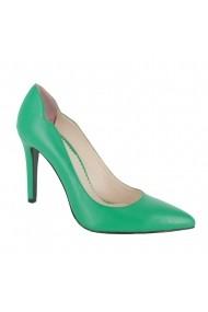 Pantofi cu toc Luisa Fiore Agave LFD-AGAVE-01 verde