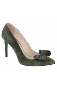 Pantofi cu toc Luisa Fiore Begonia LFD-BEGONIA-01 verde