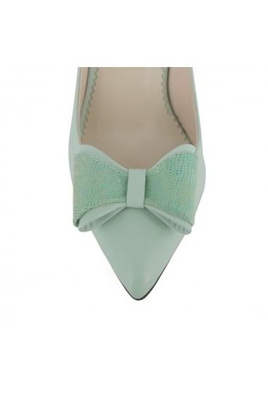 Pantofi cu toc Luisa Fiore Begonia LFD-BEGONIA-02 verde