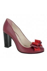Pantofi cu toc Luisa Fiore Calce, LFD-CALCE-01 bordo