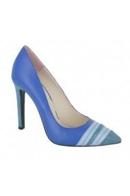 Pantofi cu toc Luisa Fiore Dianthus LFD-DIANTHUS-01 albastru