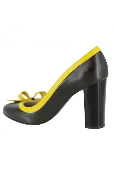 Pantofi cu toc Luisa Fiore Falcatus LFD-FALCATUS-01 maro