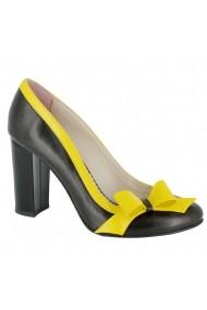 Pantofi cu toc Luisa Fiore Falcatus LFD-FALCATUS-01 Negru