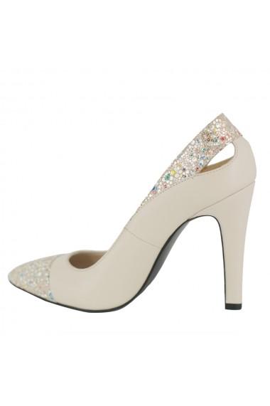 Pantofi cu toc Luisa Fiore Fresia FLD-FRESIA-01 bej