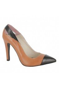 Pantofi cu toc Luisa Fiore Fresia LFD-FRESIA-02 maro
