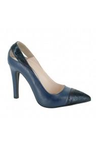 Pantofi cu toc Luisa Fiore Fresia LFD-FRESIA-03 albastru