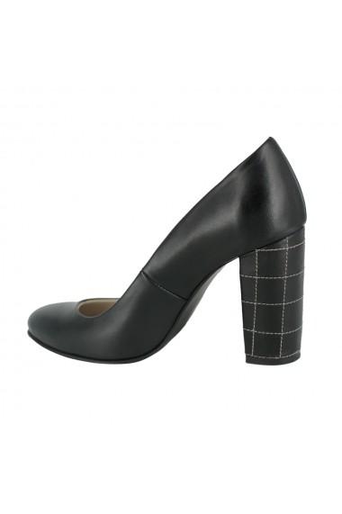 Pantofi cu toc Luisa Fiore Giglio LFD-GIGLIO-01 negru
