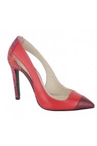 Pantofi cu toc Luisa Fiore Hoya LFD-HOYA-01 rosu