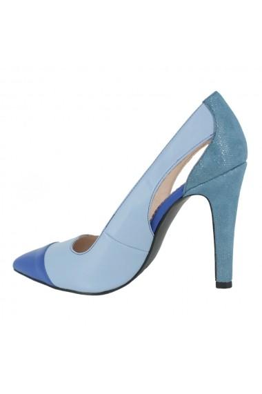 Pantofi cu toc Luisa Fiore Hoya LFD-HOYA-02 acvamarin