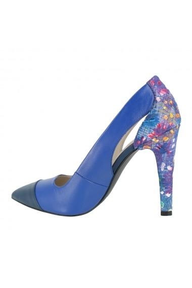 Pantofi cu toc Luisa Fiore Hoya LFD-HELEN-03 albastru