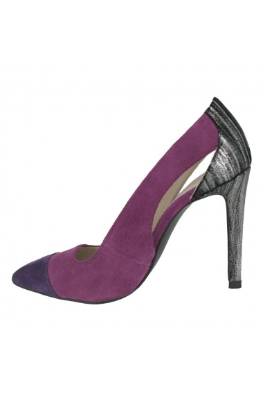 Pantofi cu toc Luisa Fiore Hoya LFD-HELEN-04 violet