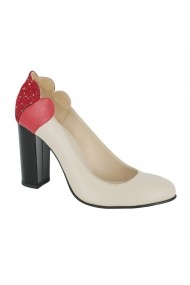 Pantofi cu toc Luisa Fiore Laelia LFD-LAELIA-01 bej