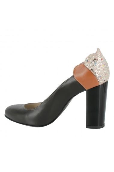 Pantofi cu toc Luisa Fiore Laelia LFD-LAELIA-03 maro