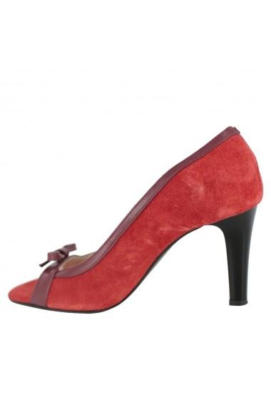 Pantofi cu toc Luisa Fiore Lilium LFD-LILIUM-02 rosu