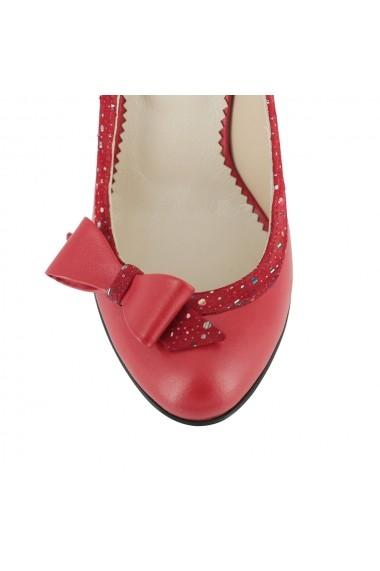 Pantofi cu toc Luisa Fiore Medillina LFD-MEDILLINA-01 rosu