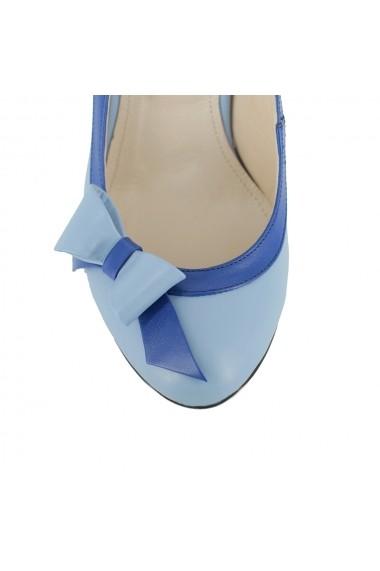 Pantofi cu toc Luisa Fiore Medillina,LFD-MEDILLINA-0 albastru