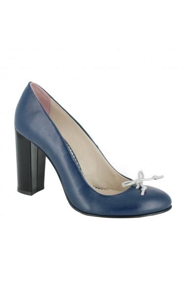 Pantofi cu toc Luisa Fiore Muscato LFD-MUSCATO-01 albastru