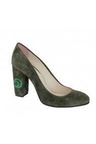 Pantofi cu toc Luisa Fiore Narcisi LFD-NARCISI-01 verde