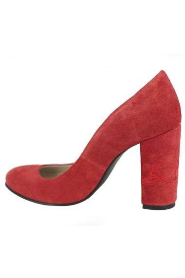 Pantofi cu toc Luisa Fiore Narcisi LFD-NARCISI-04 rosu