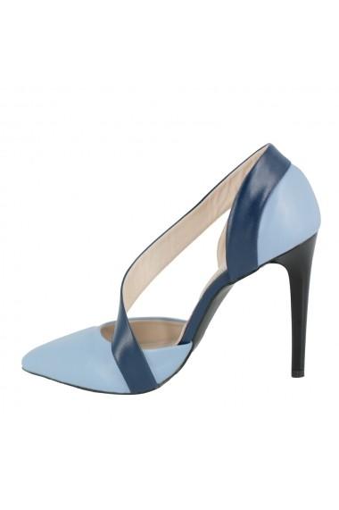 Pantofi cu toc Luisa Fiore Neri, LFD-NERI-01 acvamarin