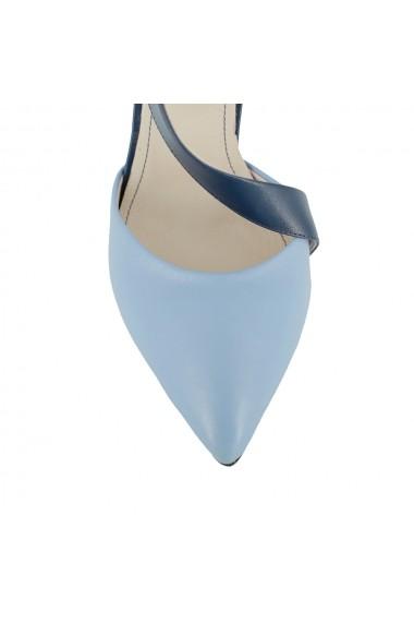 Pantofi cu toc Luisa Fiore Neri, LFD-NERI-01 Bleu