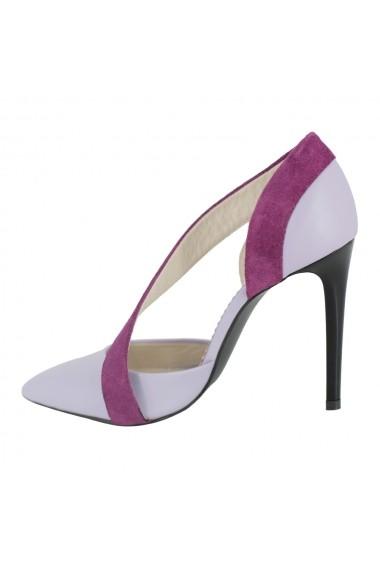 Pantofi cu toc Luisa Fiore Neri LFD-NERI-02 lila