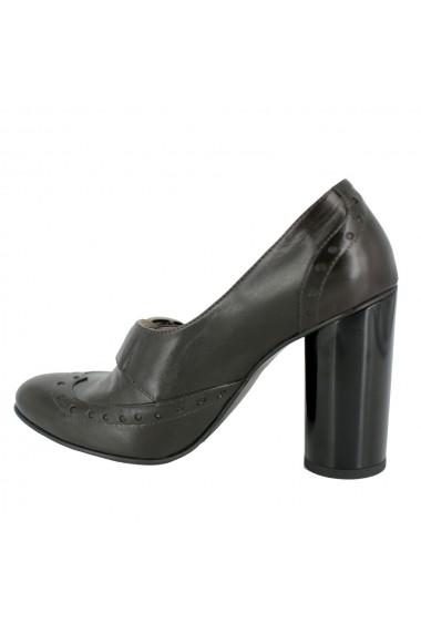 Pantofi cu toc Luisa Fiore Perla LFD-PERLA-01 maro