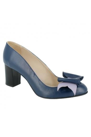 Pantofi cu toc Luisa Fiore Pitto LFD-PITTO-01 albastru