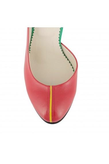 Pantofi cu toc Luisa Fiore Presto LFD-PRESTO-01 rosu
