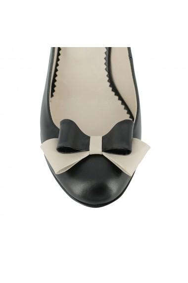 Pantofi cu toc Luisa Fiore della Regione LFD-REGIONE-01 negru