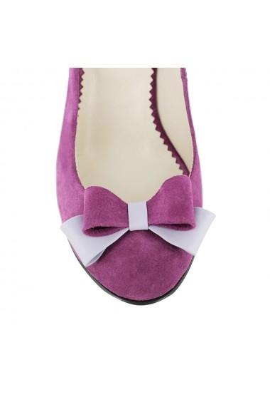 Pantofi cu toc Luisa Fiore della Regione LFD-REGIONE-02 lila