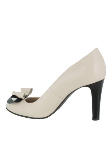 Pantofi cu toc Luisa Fiore della Regione LFD-REGIONE-03 bej