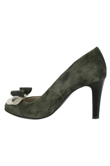 Pantofi cu toc Luisa Fiore della Regione LFD-REGIONE-05 verde